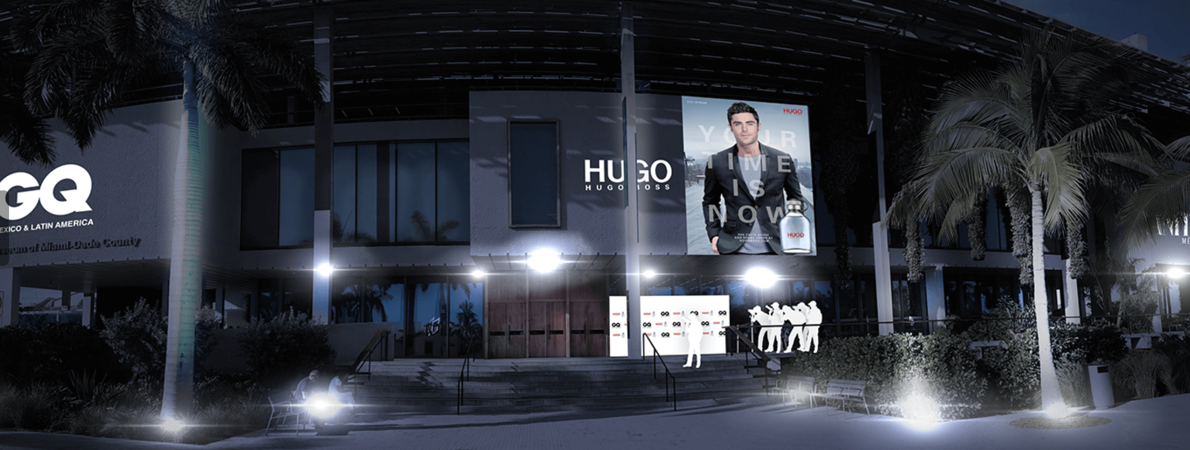 Hugo Boss Experiential Marketing Momentum Solutions and Zero Fractal